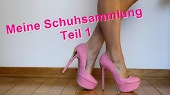 Meine Schuhsammlung TEIL1/3 || My High Heels Shoe Collection PART1/3