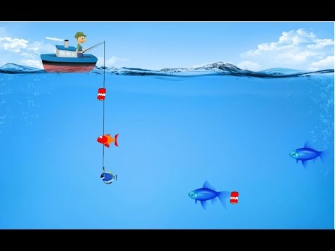 Deep sea fishing games for kids top game for kids youtube for Fishing tournament games