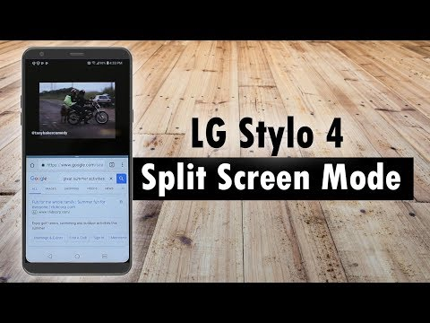 LG Stylo 4 How To Use Split Screen Mode