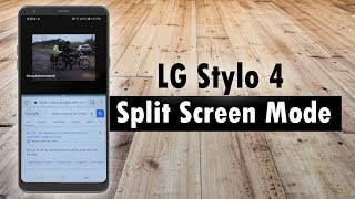 LG Stylo 4 How to Use Split Screen Mode Don't forget to Like, Favor...