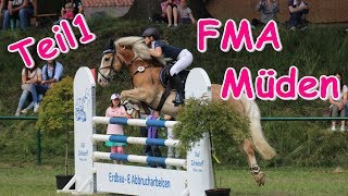 Turnier Müden I FMA I inkl. komplette Ritte I Teil 1