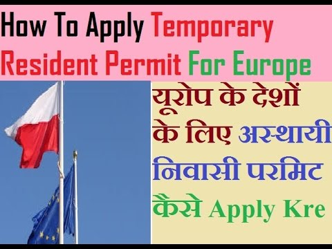 How To Apply Temporary Resident Permit