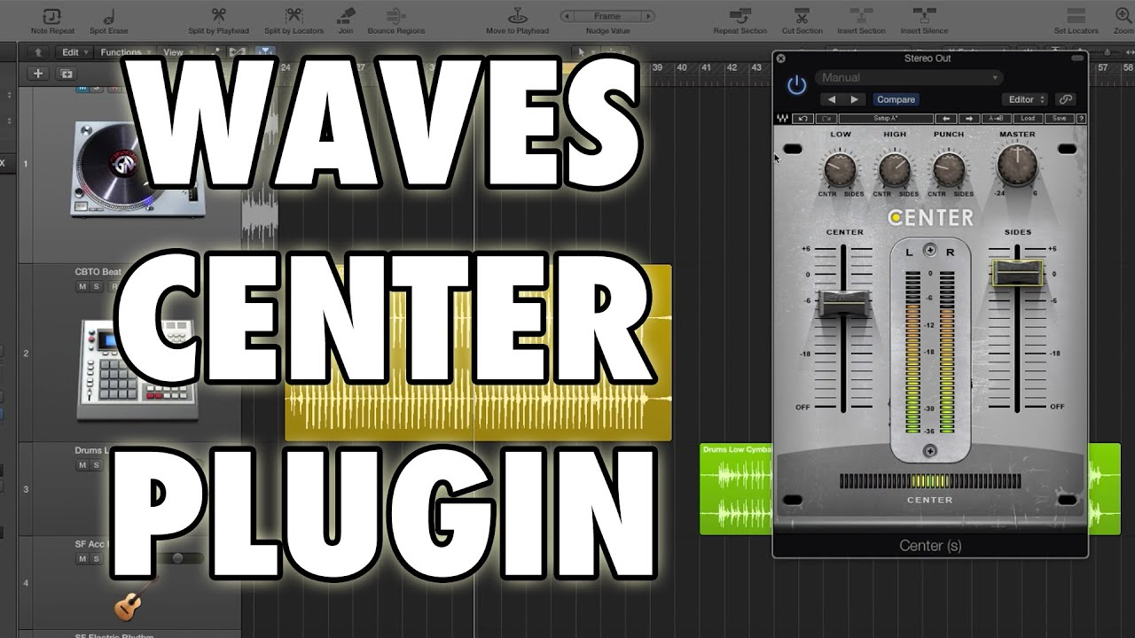 Waves Center Plugin Overview