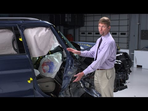 IIHS Passenger-side Small Overlap Front Crash Test Ratings For Midsize SUVs