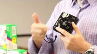 Fujifilm Instax Mini 50s Piano Black Demonstration