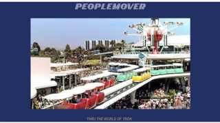 Disneyland PeopleMover - Complete Ride with Narration