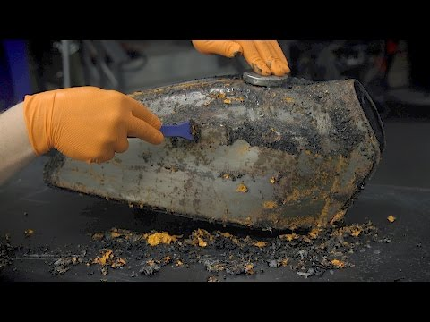 How To Quickly Strip Paint Chemically - Down To Metal Stripper - Eastwood