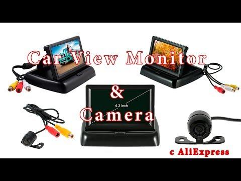 Монитор и камера заднего вида для автомобиля с Алиэкспресс