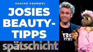 Sascha Grammel – Beauty-Tipps von Josie