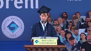 Boğaziçi Üniversitesi 151. Mezuniyet Töreni | Öğrenci Konuşması Mustafa Doğa Doğan