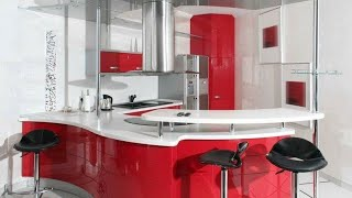 modular curved kitchen design ideas|| kitchen design ideas|| small kitchen design ideas|| modern kit