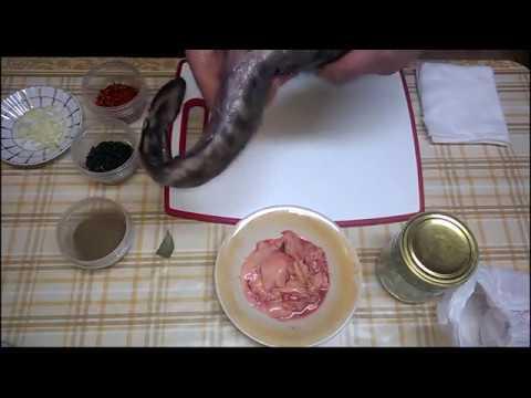 Печень Налима  (Трески) в собственном соку Рецепт приготовления. Очень Вкусный Старинный Деликатес