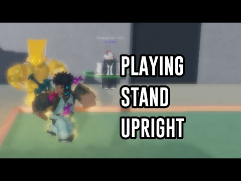 Playing Stand Upright while sitting down (First time playing)