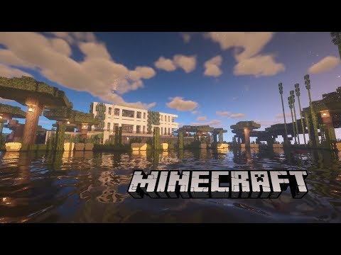 Minecraft Modern House Build Cinematic