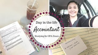 Day in the Life of an Accountant | Studying for the CPA Exam |