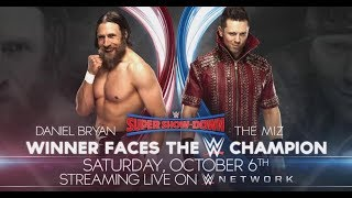 WWE Super Showdown 2018 Daniel Bryan vs The Miz 2K18 Simulation