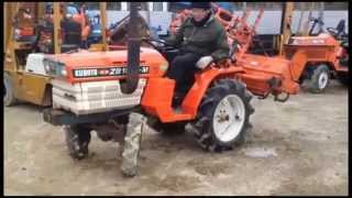 Japanese tractor KUBOTA B1502D /K.H.S