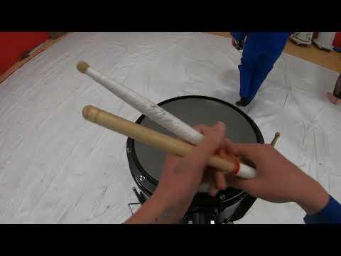 Carquinez Middle School 2019 Winter Drumline Snare Cam
