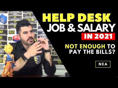 Help Desk job and salary in 2020 | NOT ENOUGH to pay the bills ☹️☹️ Here is my story…