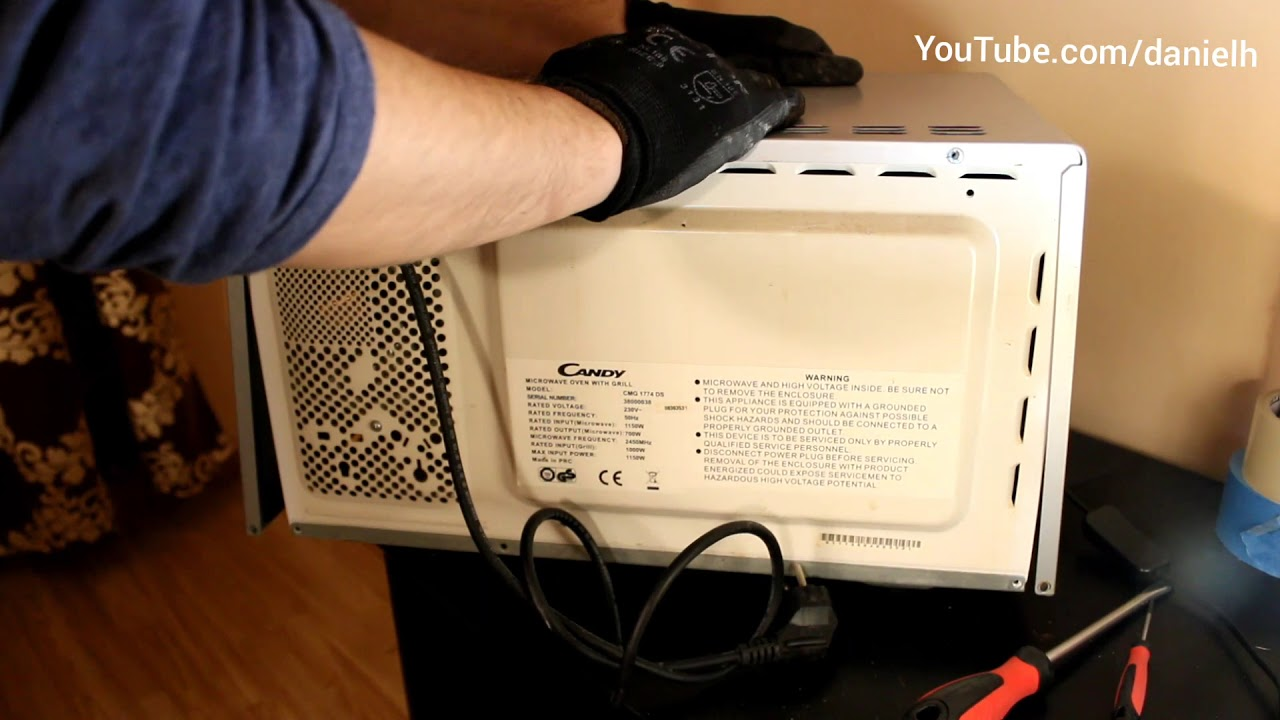 Microwave Oven Working But Not Heating Easy Fix Diy 2019