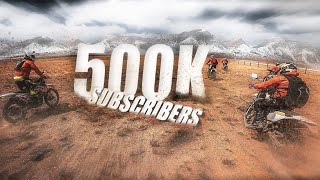 500k Special Mustang Rewind || Thank You Everyone || CX motorcycle