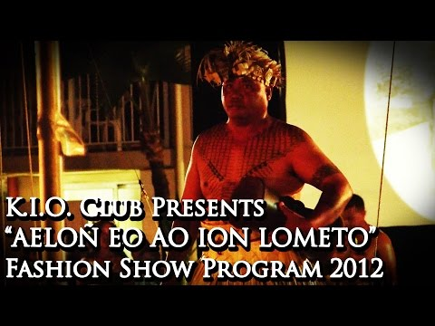 "K.I.O. Club Presents: ""Aelon eo Ao ion Lometo"" Fashion Show Program (2012)"