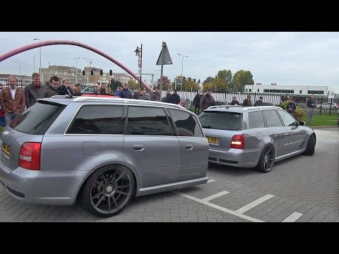 Audi RS4 Avant B5 with RS4 Car Trailer!