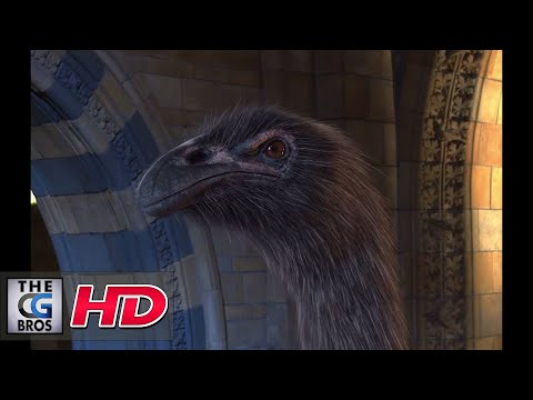 """CGI 3D Behind The Scenes : """"The Moa and the Harpagornis"""" - by Fido"""