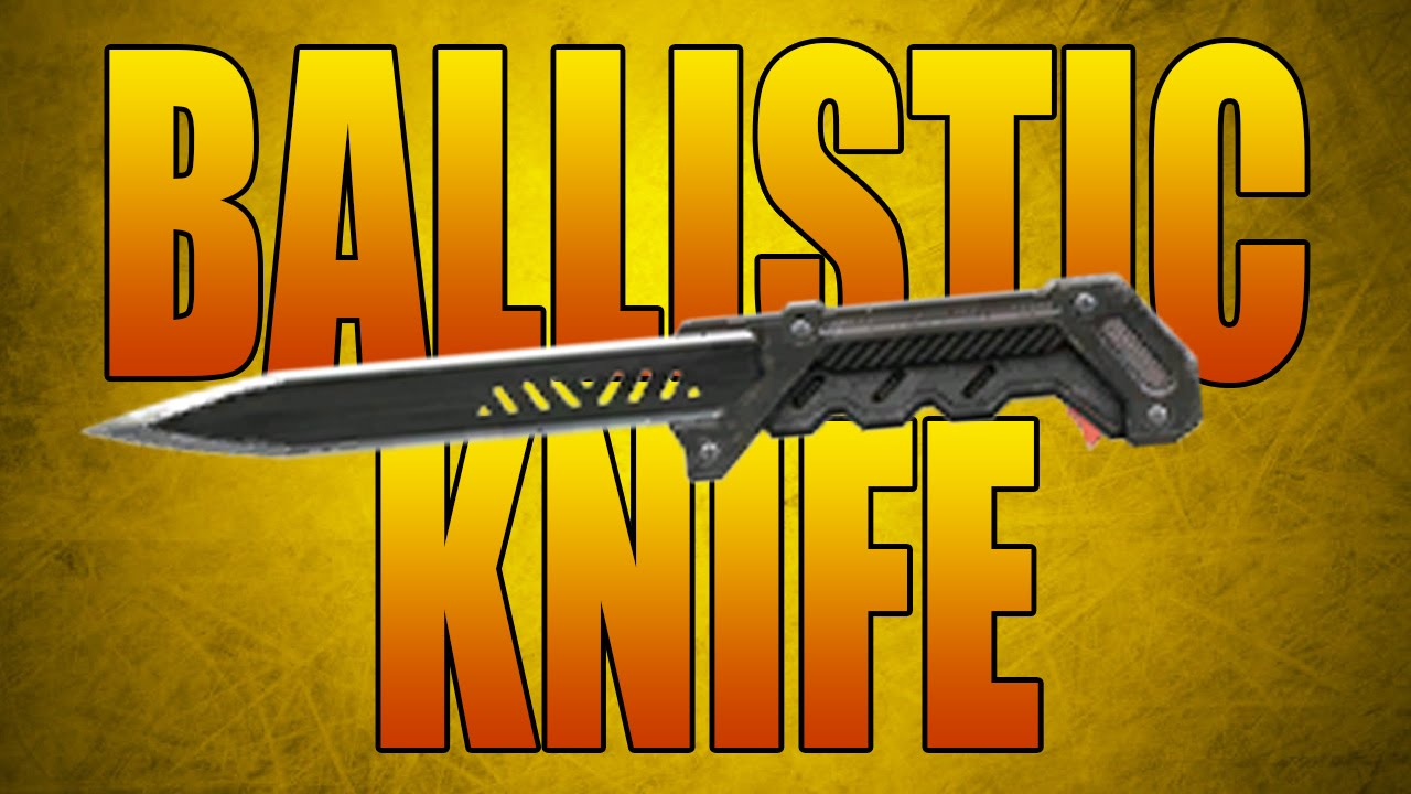 how to make a ballistic knife out of a pen