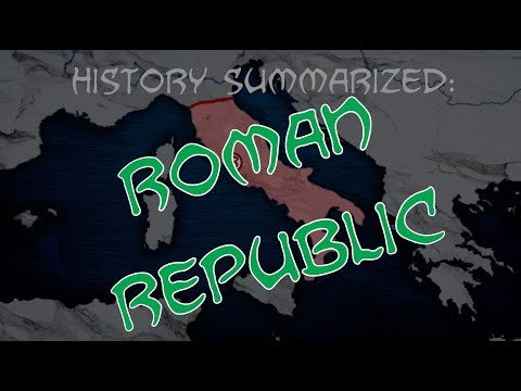 History Summarized: The Roman Republic