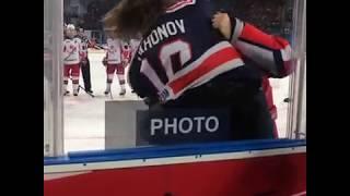 Хоккей КХЛ СКА-ЦСКА 1:4 Бой Тихонов vs Карнаухов 22.12.2018
