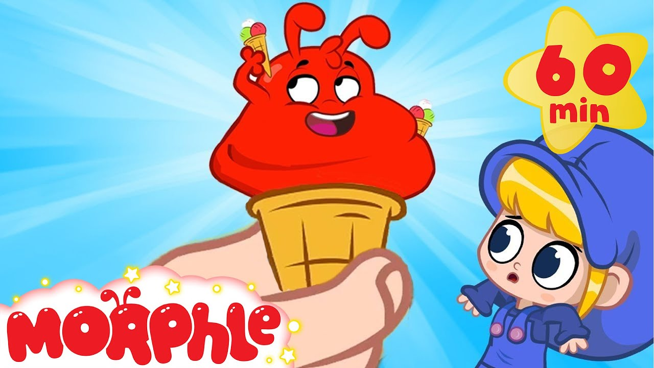 Ice Cream Morphle | My Magic Pet Morphle | Cartoons for Kids | Morphle TV
