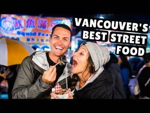 ASIAN STREET FOOD IN VANCOUVER? Richmond Night Market DIY Food Tour