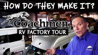 How A Galleria Is Built | Coachmen RV Factory Tour