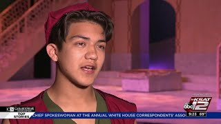 Sebastian de la cruz was cast as aladdin in a play at the magik theatre, and he said this is one of many opportunities that came following his nba performance.