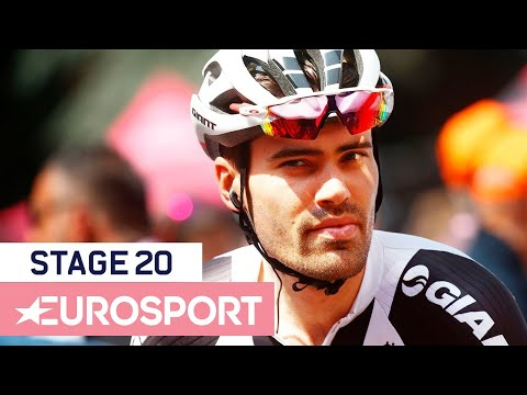 Froome Holds Off Relentless Dumoulin to Claim GC Victory | Giro d'Italia 2018 | Stage 20 Highlights