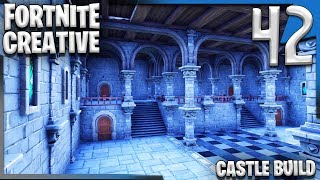 GETTING THE CATHEDRAL TOGETHER! | Fortnite Creative Building E42