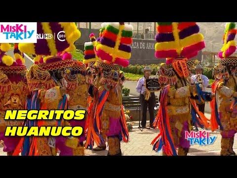 NEGRITOS DE HUANUCO (Danza Peruana) - Miksi Takiy (15/Ago/2015)