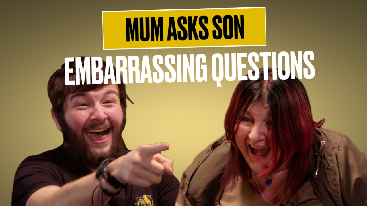 Son Reveals Sex Life Secrets To Mum | Shock Your Mum | @LADbible TV