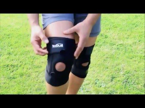 EX-701 Open Patella Knee Brace Review vs Standard Generic Knee Support