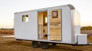 Stunning Beautiful Discrete Camper Tiny House | Lovely Tiny House