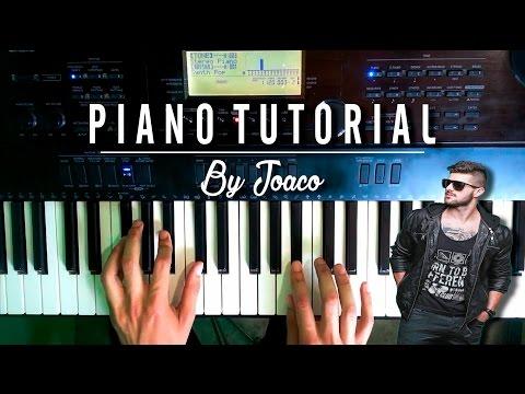 Alok & Bruno Martini feat Zeeba - Hear Me Now  Piano Tutorial
