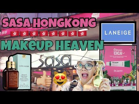 SHOPPING at SaSa BEAUTY DRUGSTORE - HONGKONG || MIMIM CARLYK || bahasa