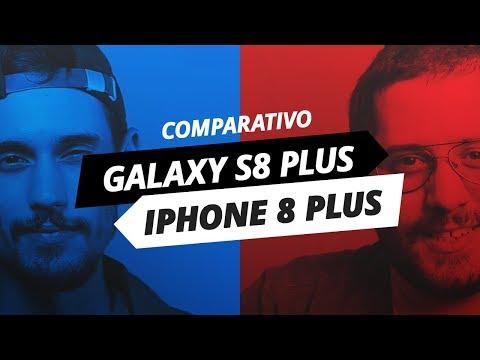 Galaxy S8 Plus x iPhone 8 Plus: duelo de gigantes [Comparativo]