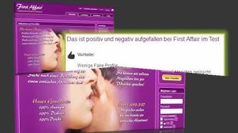 Firstaffair Test: Firstaffair im detaillierten Test