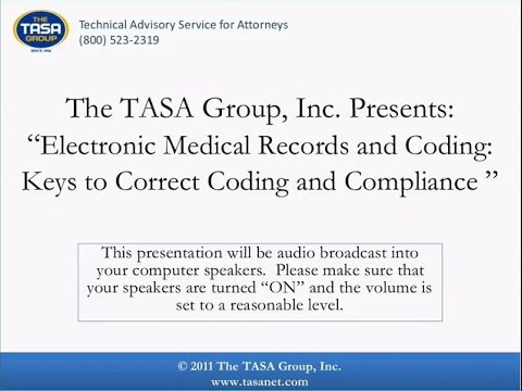 Electronic Medical Records and Coding Keys to Correct Coding and Compliance