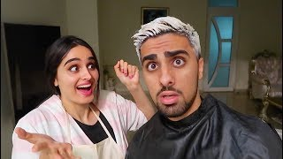 I DYED MY HAIR FOR THE FIRST TIME !!!
