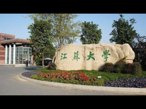 Jiangsu University Zhenjiang China Snowy  Day 江苏大学