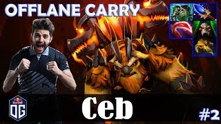 Ceb - Earthshaker OFFLANE CARRY | Dota 2 Pro MMR Gameplay #2