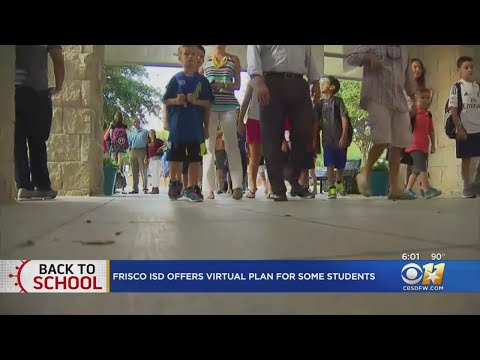 Frisco ISD First In North Texas To Offer Online Learning In Wake Of Rise In COVID-19 Cases